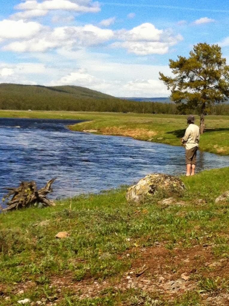 Firehole river yellowstone wy wandering angler for Yellowstone lake fishing