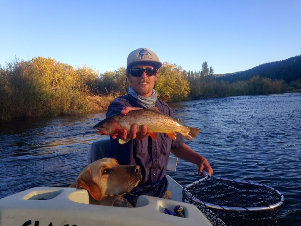 Evan with beau hunk on the salt river wandering angler for Salt river fishing